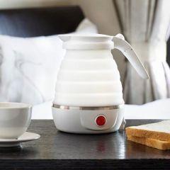 nathome/北欧欧慕折叠旅行迷你便携电热水壶二代